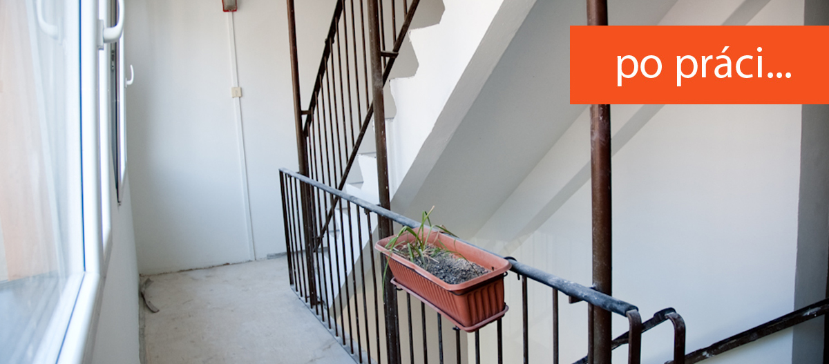 štukování a malování domů - realizace